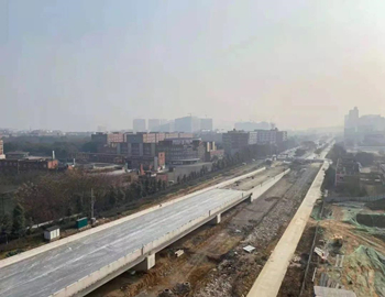 便捷!绵阳又一座高架桥项目即将实现主桥通车!