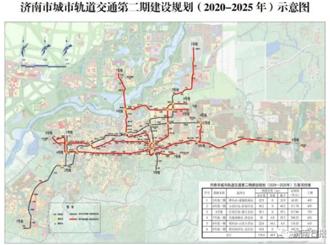 济南地铁4号线一期环评公示
