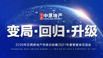 2020年东莞房地产市场总结暨2021年展望