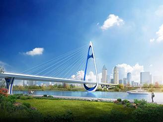 河源市学府大桥工程最新进展来了!