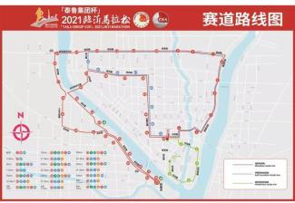 2021临沂马拉松赛即将举行!期间这些道路交通管制
